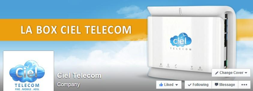 couv facebookj ciel telecom