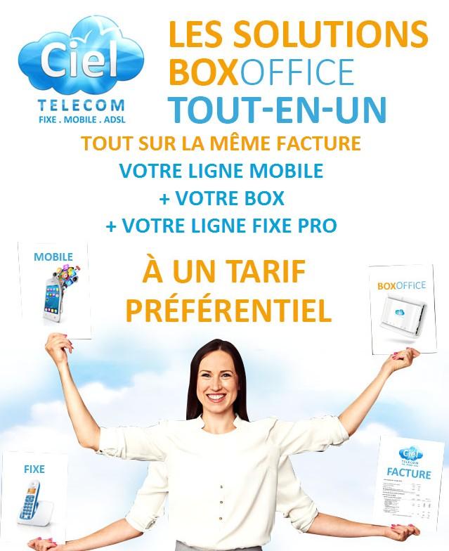 Ciel Telecom fixe mobile box