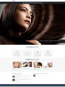 Ciel Telecom : homepage coiffeur