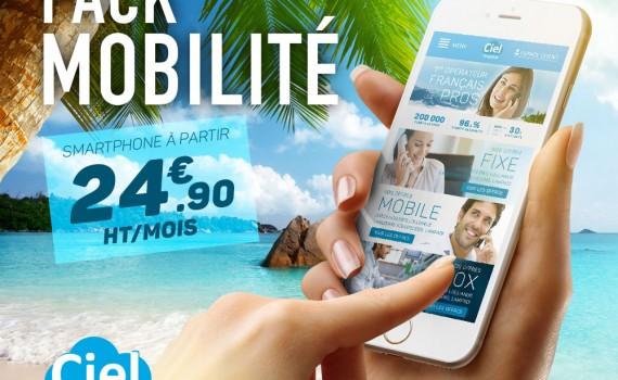 pack mobilité ciel telecom