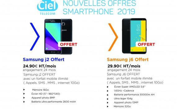 Nouvelles offres smartphone 2019-01